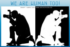 we are human too / the photographers
